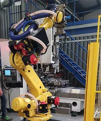 Cellule robotique