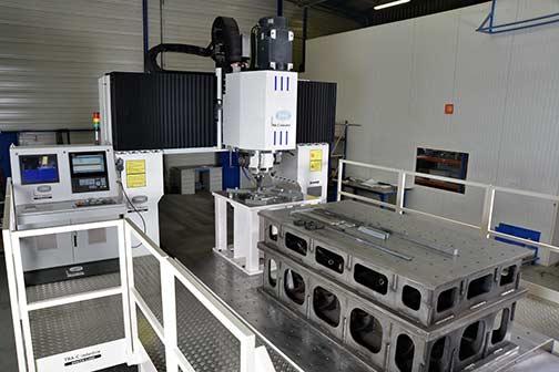 Nos machines FSW
